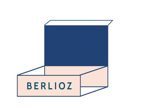 logo box lunch berlioz catering